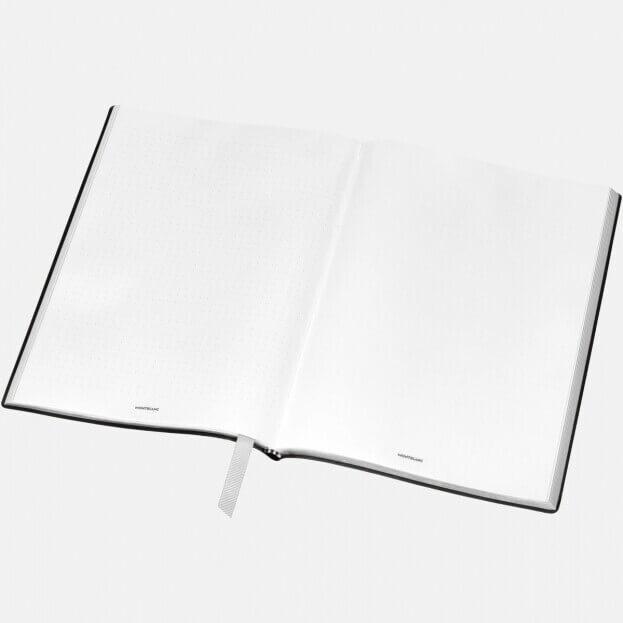 Montblanc Notebook #163 Σημειωματάριο Δερμάτινο Μαύρο