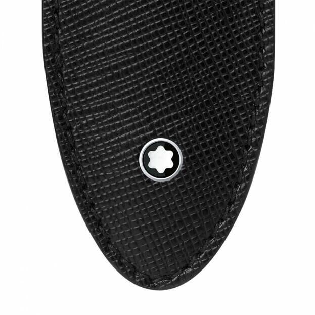 Montblanc Sartorial 1 Pen Sleeve Θήκη Στυλογράφου Μαύρο Δέρμα