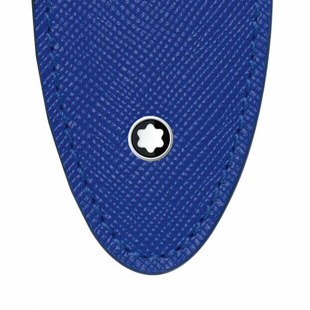 Montblanc Sartorial 1Pen Sleeve Θήκη Στυλογράφου Μπλε Δέρμα