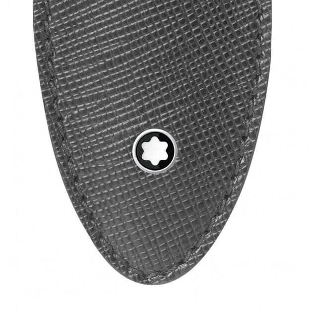 Montblanc Sartorial 1Pen Sleeve Θήκη Στυλογράφου Γκρι Δέρμα