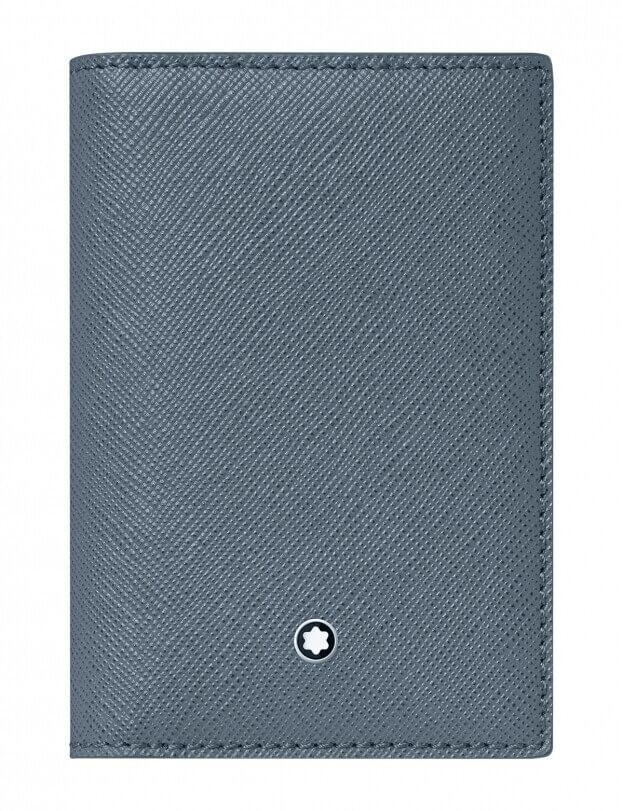 MONTBLANC Sartorial 4cc Denim Blue Θήκη για Κάρτες 124186