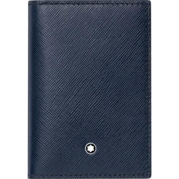MONTBLANC SARTORIAL BUISNESS CARD HOLDER BLUE