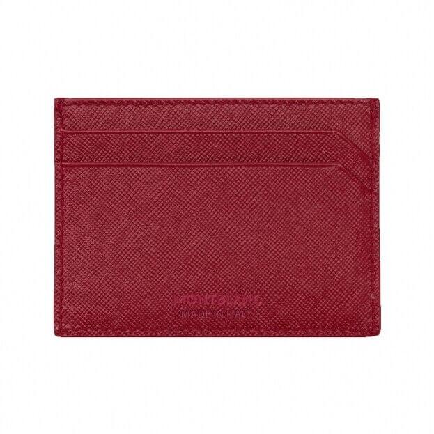 MONTBLANC Sartorial Pocket Holder 5cc Κόκκινο