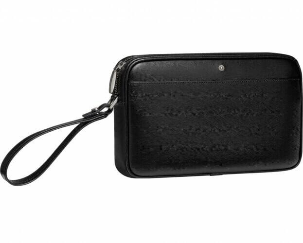 Montblanc Τσάντα Clutch 4810 Westside Δέρμα Μαύρο