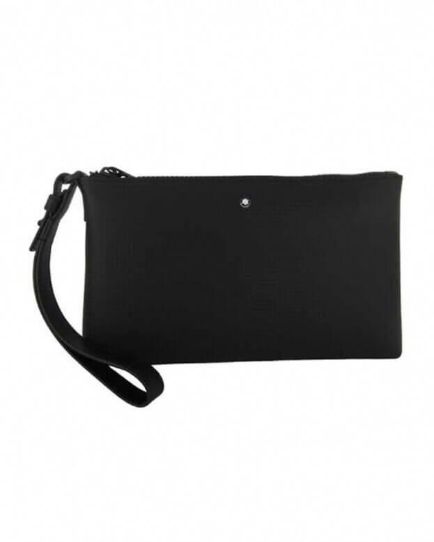 Montblanc Τσάντα Clutch Small Black Extreme 2.0 Δέρμα Μαύρο