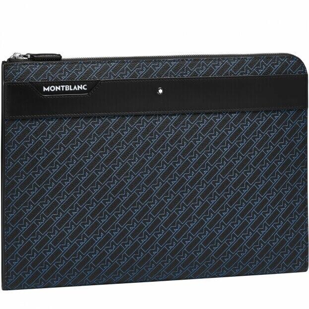 Montblanc Montblanc M_Gram 4810 Portfolio Τσάντα Λαπτοπ Μπλε με σχέδιο