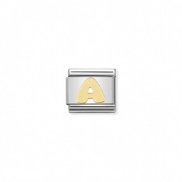 Nomination Γράμματα Σύνδεσμοι Composable Classic Unisex Link Letters