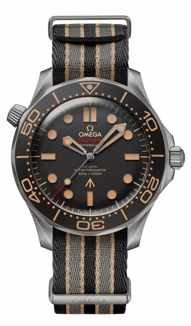 OMEGA 007 Edition Seamaster Diver 300M Co-Axial James Bond 42mm Καφέ Καντράν Ανδρικό Ρολόι