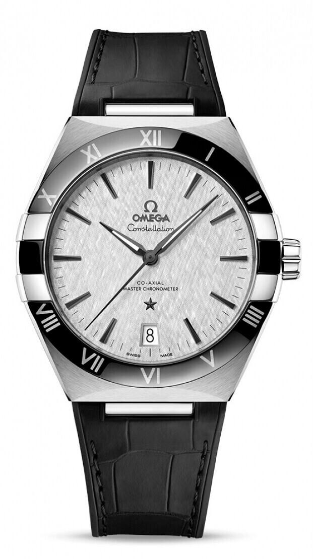 OMEGA Constellation Co-axial Master Chronometer 41mm  Σατινέ Γκρι Καντράν Ανδρικό Ρολόι