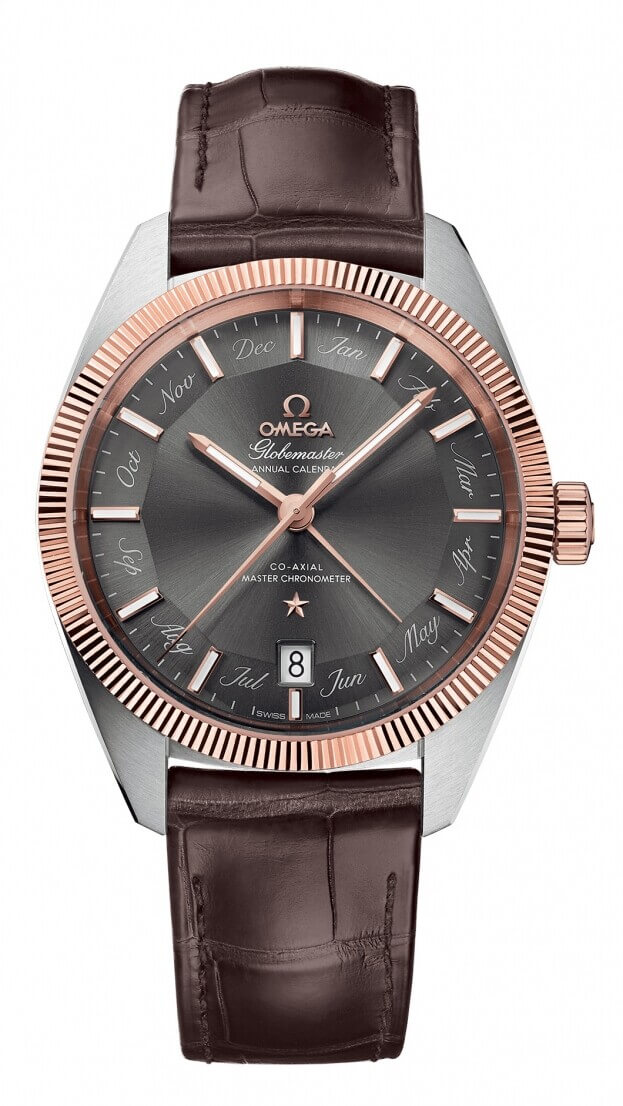 OMEGA Constellation Globemaster Co-axial Master Chronometer 41mm Annual Calendar Γκρι Καντράν Ανδρικό Ρολόι