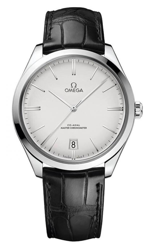OMEGA De Ville Trésor Co-Axial Master Chronometer 40mm Ασημί Καντράν Ανδρικό Ρολόι