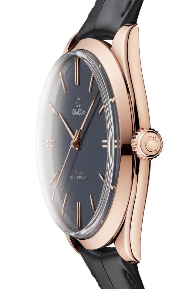 OMEGA De Ville Trésor Co-Axial Master Chronometer 40mm Γκρι Καντράν Ανδρικό Ρολόι