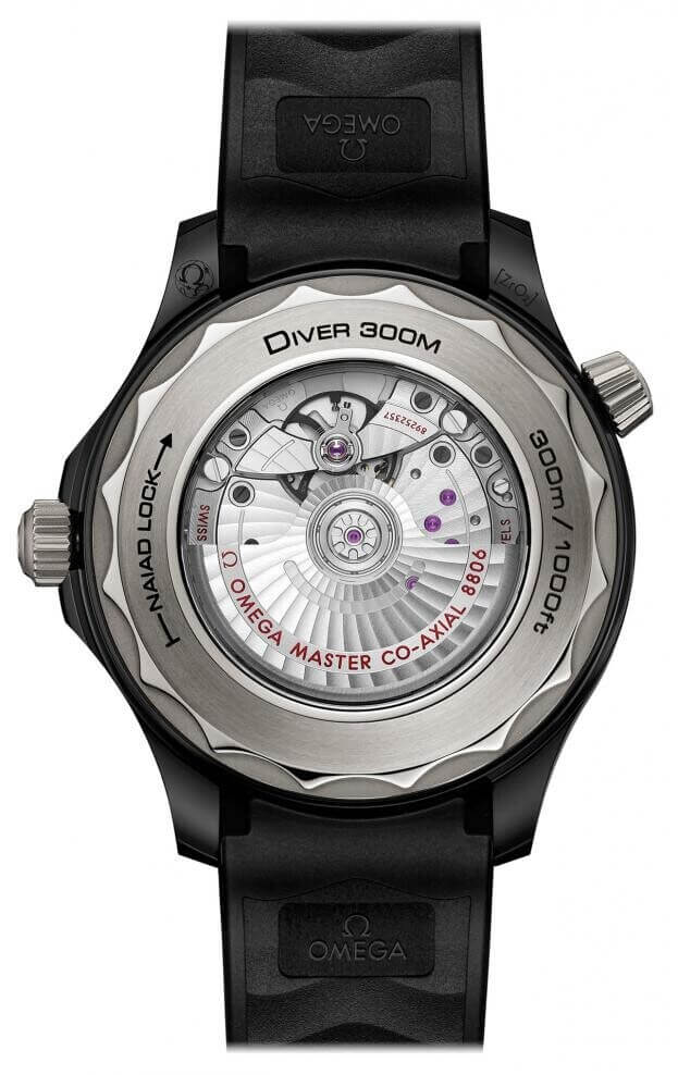 OMEGA Seamaster Diver 300M Co-Axial Master Chronometer 43.5mm Μαύρο Καντράν Ανδρικό Ρολόι