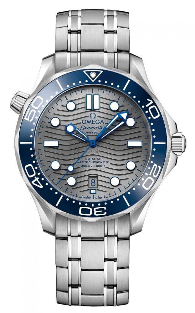 OMEGA Seamaster Diver 300M Co-Axial Master Chronometer 42mm Γκρι Καντράν Ανδρικό Ρολόι