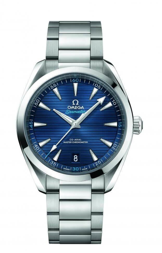 OMEGA Seamaster Aqua Τerra 150Μ Co-Axial Master Chronometer Automatic 41mm Μπλε Καντράν Ανδρικό Ρολόι