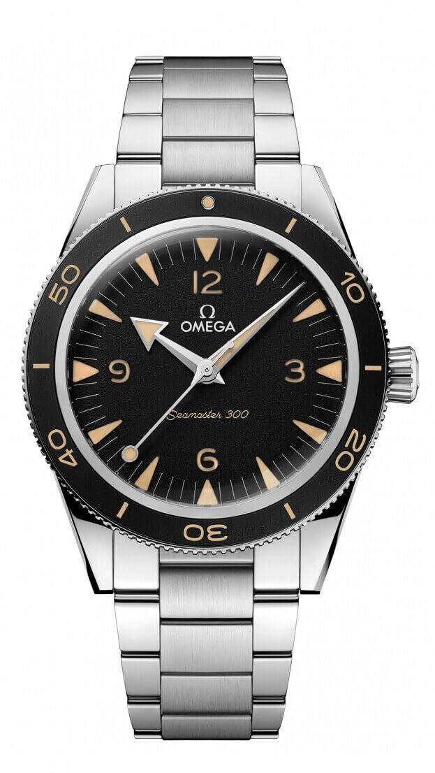 OMEGA Seamaster CO‑AXIAL MASTER CHRONOMETER 41mm Μαύρο Καντράν Ανδρικό Ρολόι