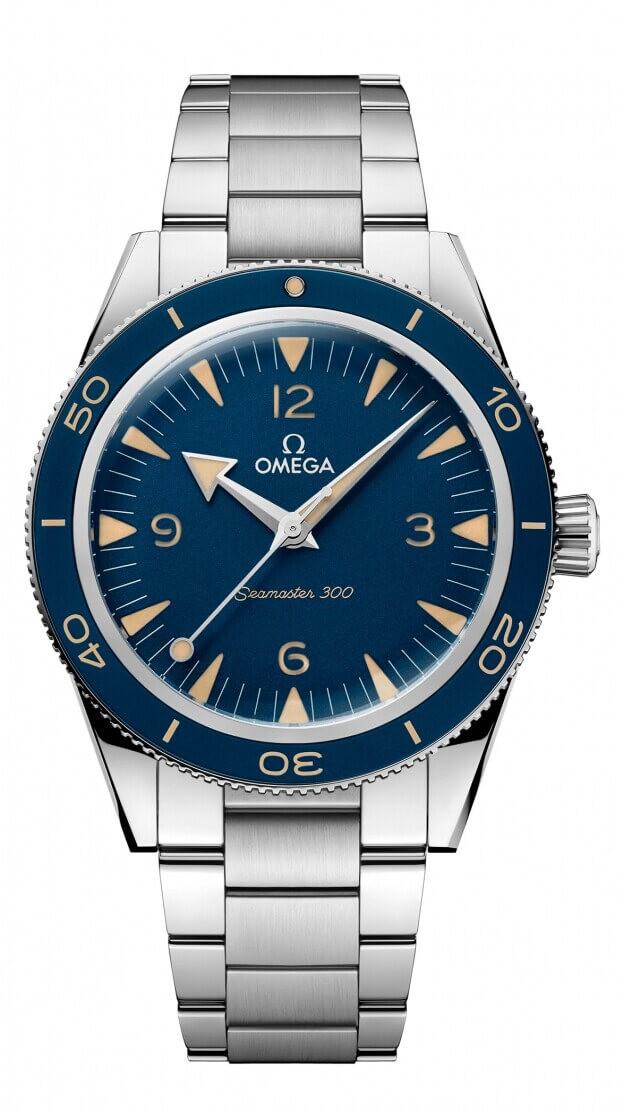 OMEGA Seamaster CO‑AXIAL MASTER CHRONOMETER 41mm Μπλε Καντράν Ανδρικό Ρολόι