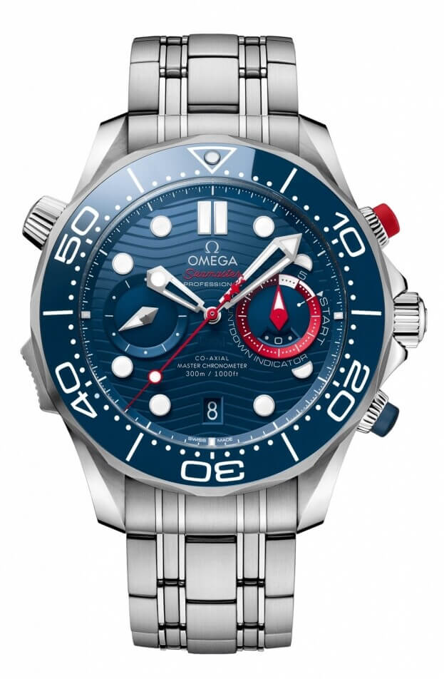 OMEGA SEAMASTER DIVER 300M 'AMERICA'S CUP' CO‑AXIAL MASTER CHRONOMETER CHRONOGRAPH 44 MM
