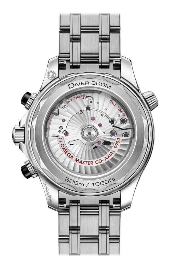 OMEGA Seamaster Professional Diver 300M Co-Axial Chronograph 44mm Μαύρο Καντράν Ανδρικό Ρολόι