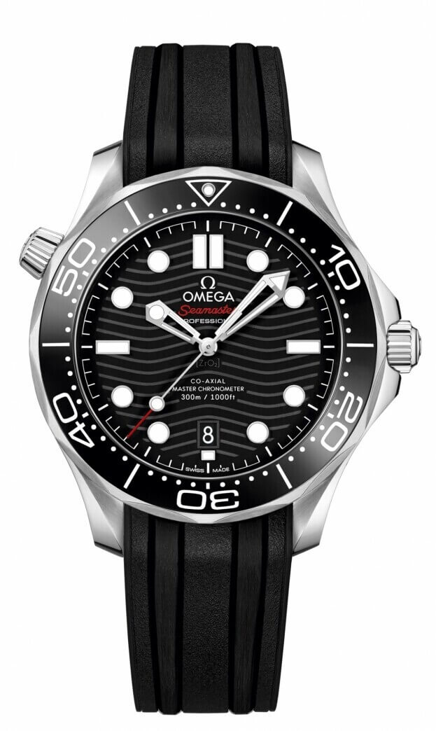 OMEGA Seamaster Diver 300M Co-Axial Master Chronometer 42mm Μαύρο Καντράν Ανδρικό Ρολόι