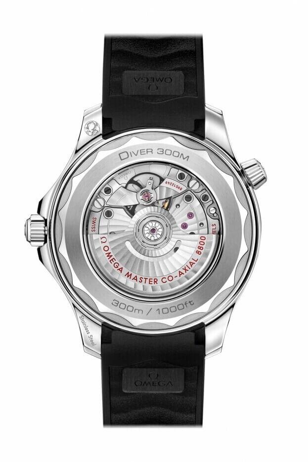 OMEGA Seamaster Diver 300M Co-Axial Master Chronometer 42mm Μαύρο Καντράν Ανδρικό Ρολόι