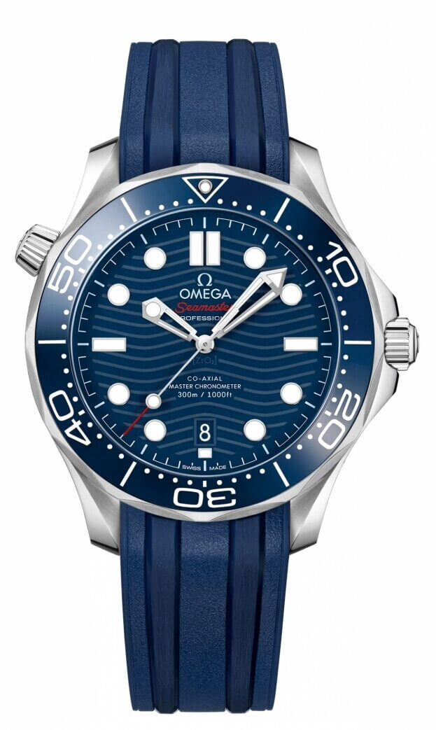 OMEGA Seamaster Diver 300M Co-Axial Master Chronometer 42mm Μπλε Καντράν Ανδρικό Ρολόι