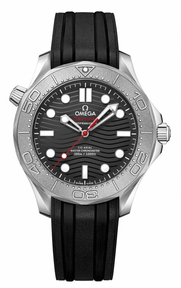 OMEGA Seamaster Diver 300M Nekton Edition Co-Axial 42mm Μαύρο Καντράν Ανδρικό Ρολόι