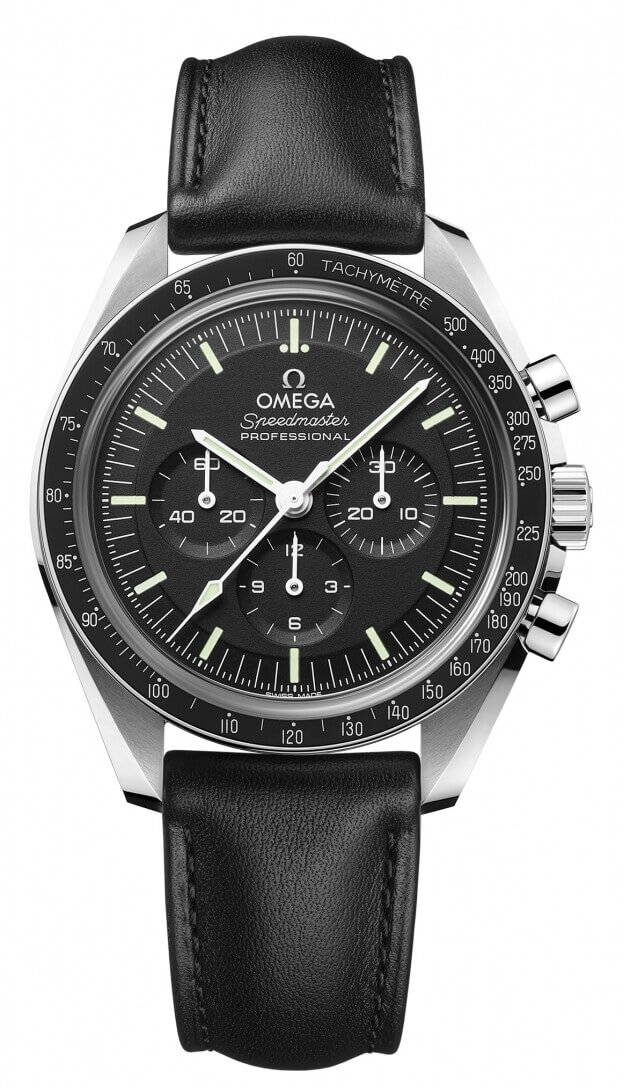 OMEGA Speedmaster Moonwatch Professional Chronograph 42mm Μαύρο Καντράν Ανδρικό Ρολόι