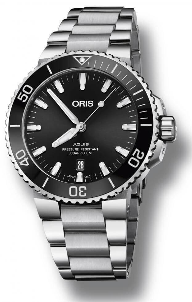ORIS AQUIS DATE Automatic 43.5mm Black Dial