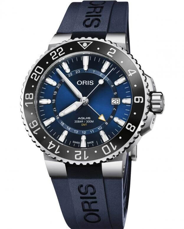 ORIS AQUIS DATE Automatic 43.5mm Blue Dial Gents Watch
