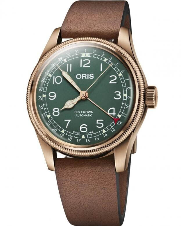 ORIS BIG CROWN PROPILOT BRONZE POINTER DATE 80TH ANNIVERSARY