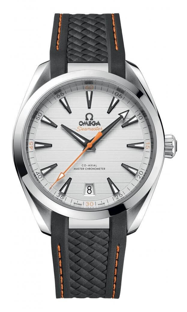 OMEGA Seamaster Aqua Τerra 150Μ Co-Axial Master Chronometer Automatic 41mm Ασημί Καντράν Ανδρικό Ρολόι