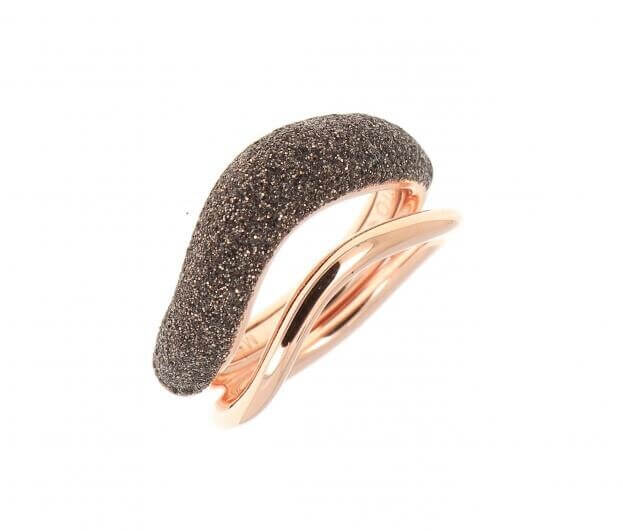 PESAVENTO ANELLI RING PINK SHINY BROWN DUST WPLVA1065