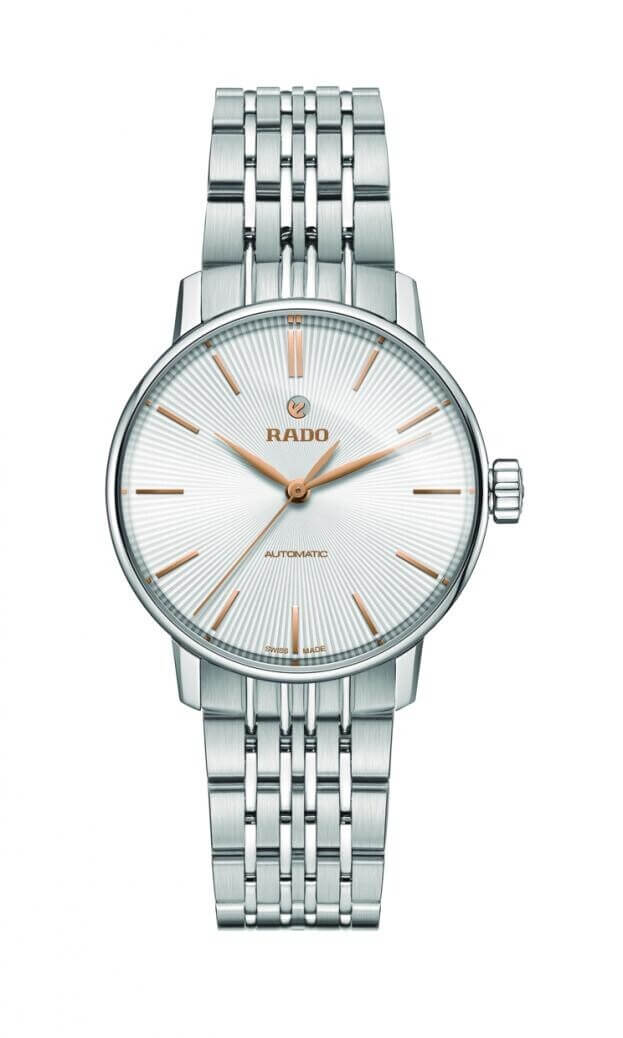 RADO COUPOLE Automatic 32mm White Dial Ladies Watch