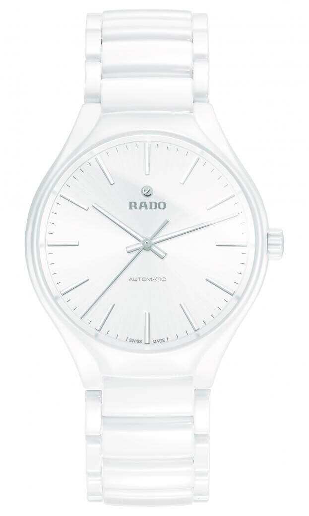 RADO TRUE AUTOMATIC WATCH 40mm White Dial Ladies Watch