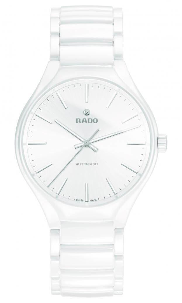 RADO TRUE AUTOMATIC WATCH 40mm White Dial Ladies Watch