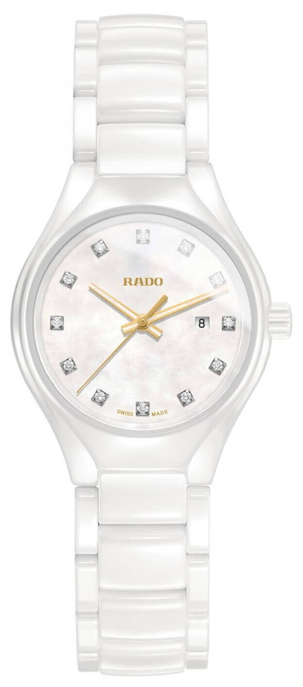 RADO TRUE 30mm WHITE DIAL LADIES DIAMONDS WATCH