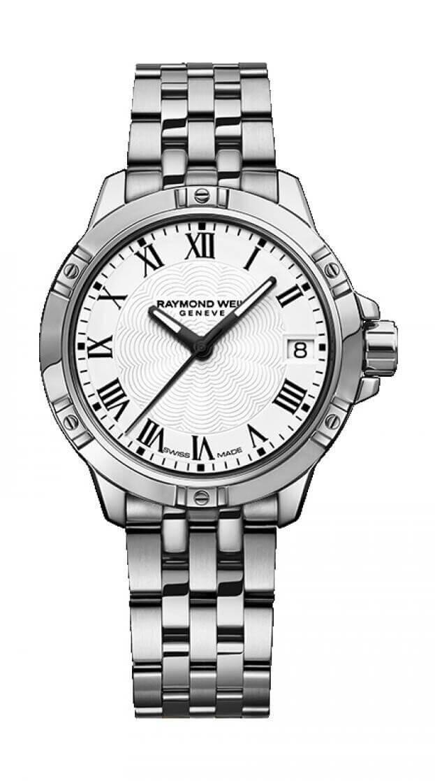 RAYMOND WEIL TANGO LADIES 30mm Λευκό Καντράν Γυναικείο Ρολόι