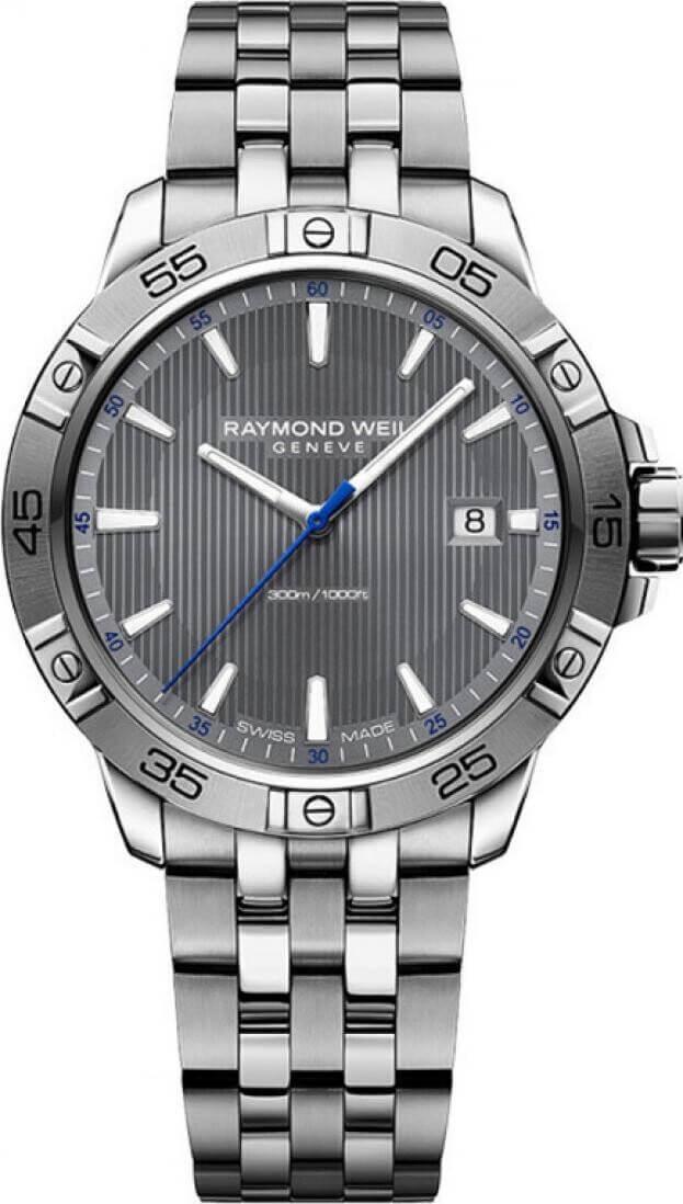 RAYMOND WEIL TANGO MENS WATCH 41mm Γκρι Καντράν Ανδρικό Ρολόι