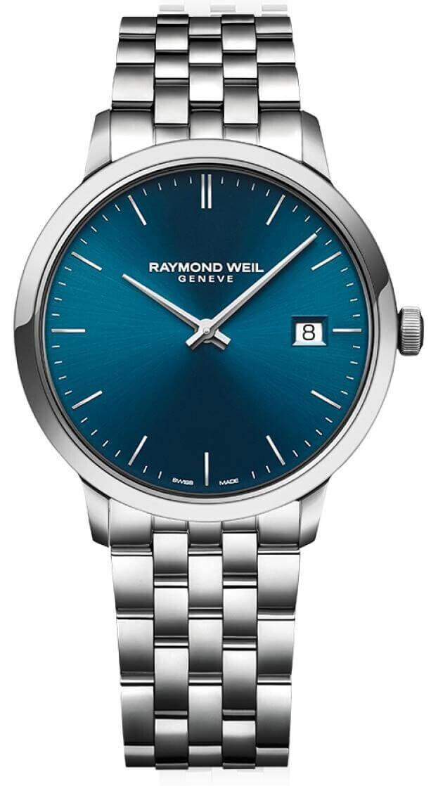 RAYMOND WEIL TOCCATA 42mm Μπλε Καντράν Ανδρικό Ρολόι