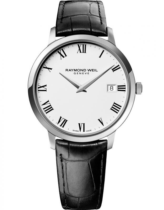RAYMOND WEIL TOCCATA 42mm Λευκό Καντράν Ανδρικό Ρολόι