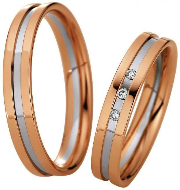 SAINT MAURICE WEDDING RINGS LIGHT