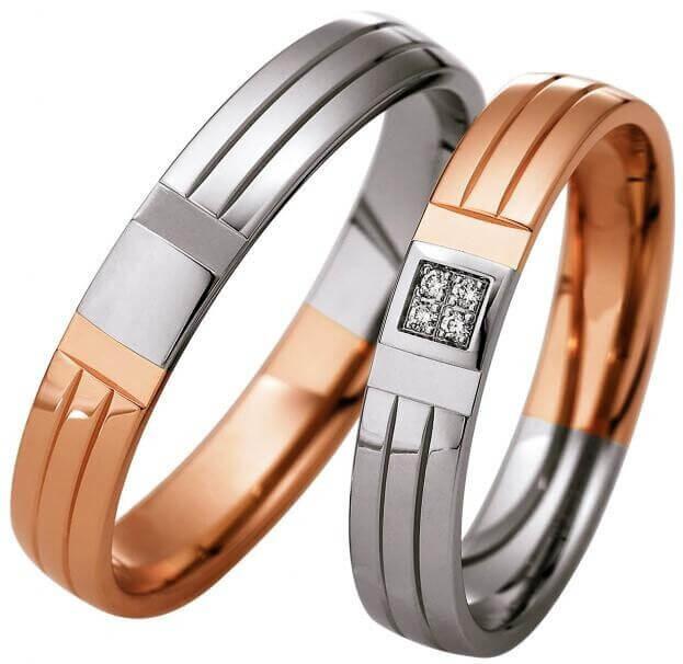SAINT MAURICE WEDDING RINGS LIGHT 49870780 49870790