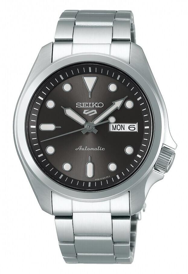 SEIKO 5 Sports Automatic 40mm Μαύρο Καντράν Ανδρικό Ρολόι