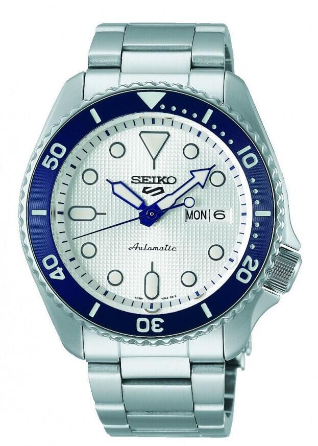 SEIKO 5 Sports Automatic Limited Edition 42.5mm Ασημί Καντράν Ανδρικό Ρολόι