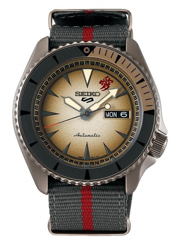 SEIKO 5 Sports Automatic Mens Watch 42.5mm Καφέ Καντράν Ανδρικό Ρολόι
