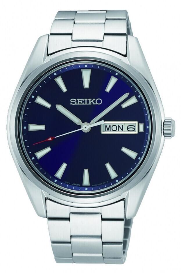 SEIKO Conceptual Quartz 40.2mm Μπλε Καντράν Ανδρικό Ρολόι