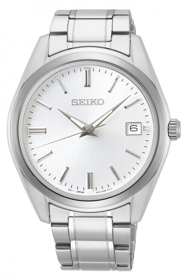 SEIKO Conceptual Quartz Mens Watch 40.2mm Λευκό Καντράν Ανδρικό Ρολόι