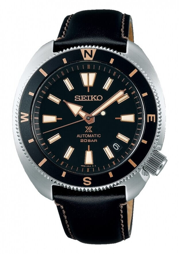 SEIKO Prospex Automatic 42.4mm Black Dial Mens Watch