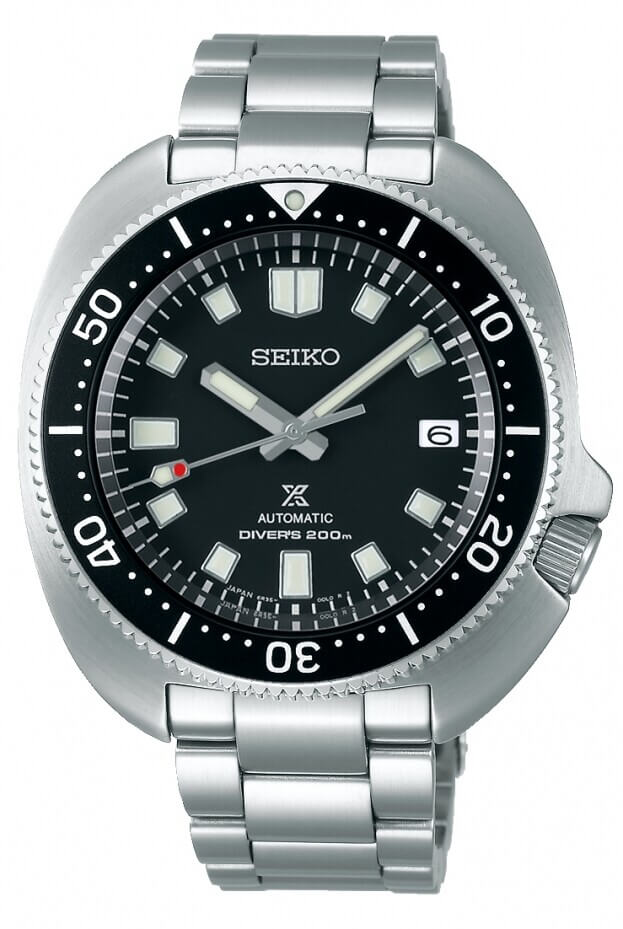 SEIKO Prospex Automatic 42.7mm Black Dial Mens Watch